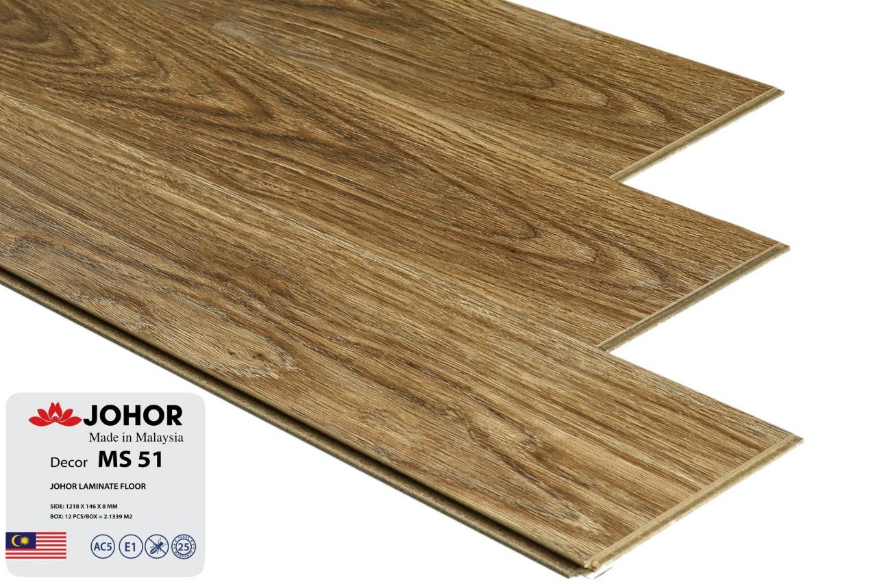 Sàn gỗ JOHOR 8 MM nhập khẩu Malaysia